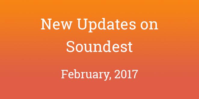 soundest_updates_february