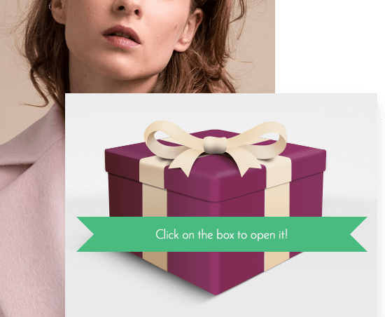 Keep your customers engaged with the Gift Box and Scratch Card