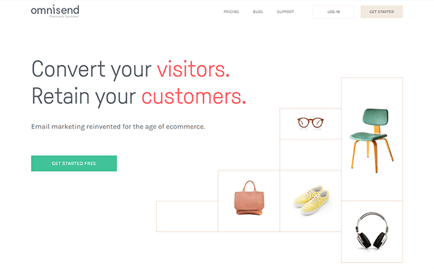 Omnisend is focused on helping merchants convert their visitors and retain their customers