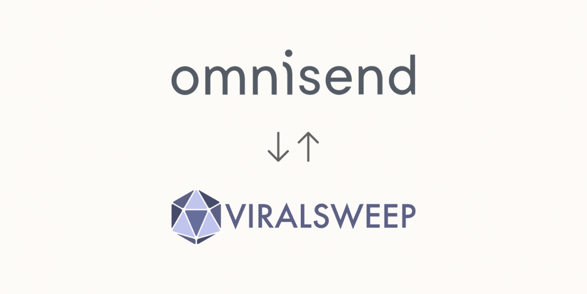Omnisend's new ViralSweep integration