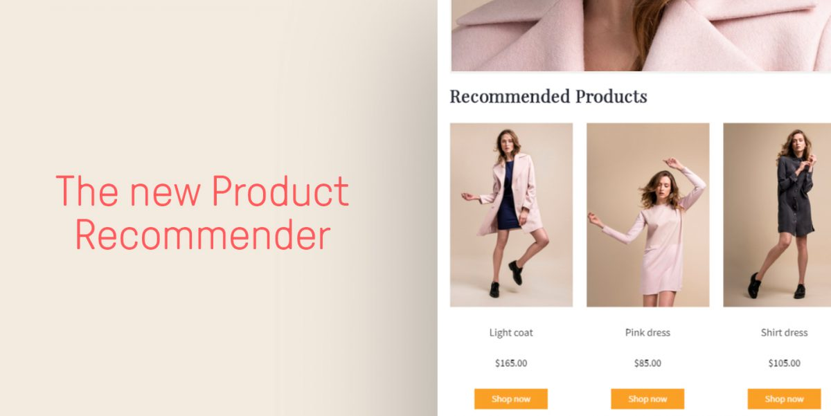 Try out Omnisend's brand new Product Recommender for better newsletters and higher sales
