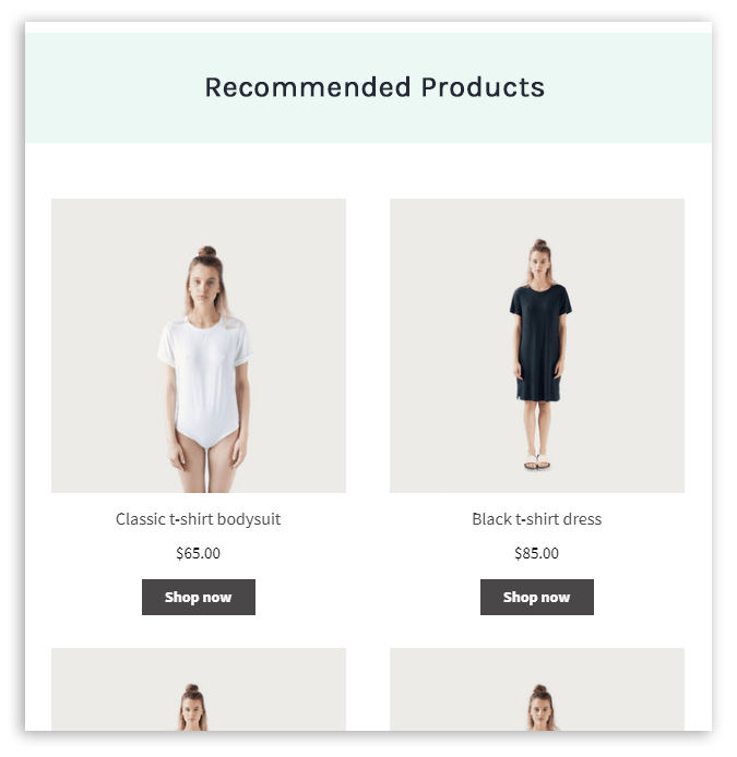 Use your cancellation confirmation plus an automated product recommender to win back your lost sales