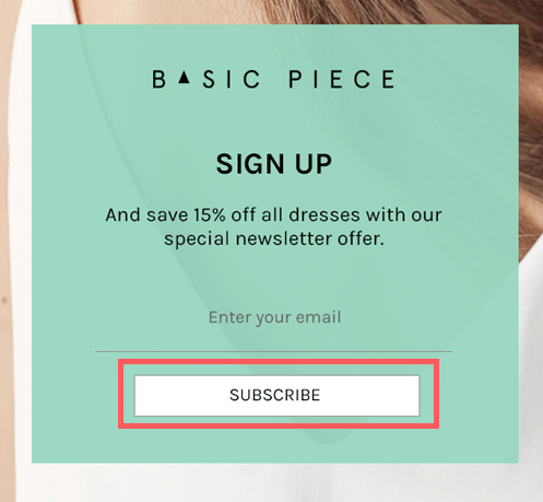 With Omnisend's popups, you'll get consent when a visitor subscribes to your newsletters.