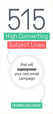 Download the 515 High Converting Subject Lines Ebook Now