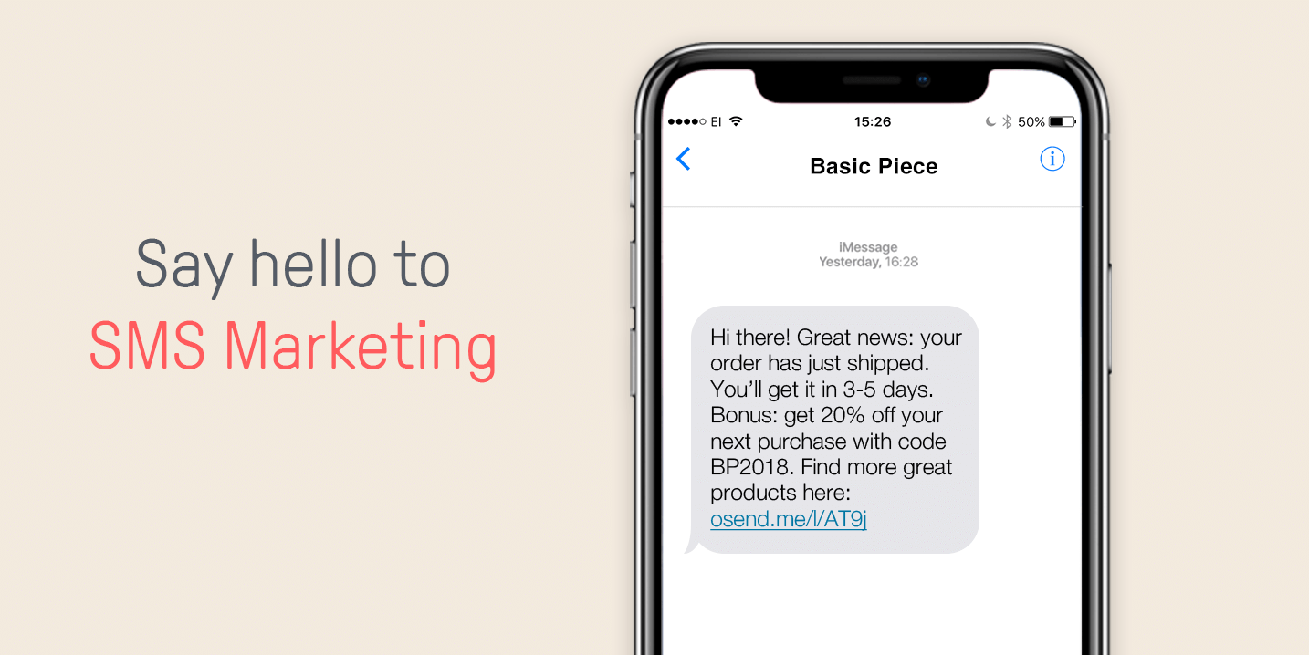 How to Use Ecommerce SMS Marketing for Better Conversions
