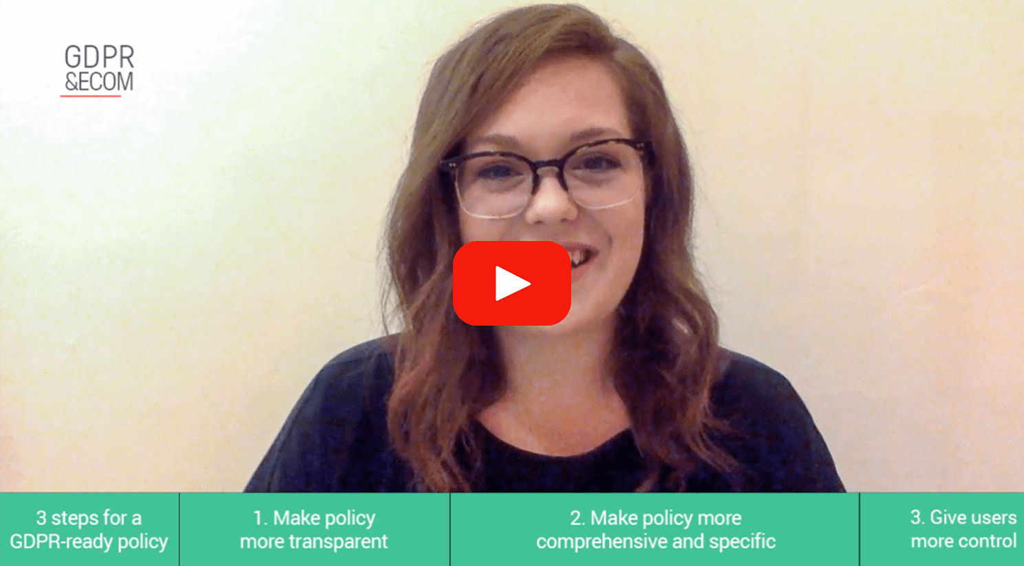 Privacy Consultant KJ Dearie from Termly shows you how to make sure your Privacy Policy is GDPR-compliant.