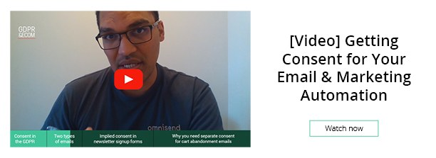 Watch more: [Video] Getting Consent for Your Email & Marketing Automation