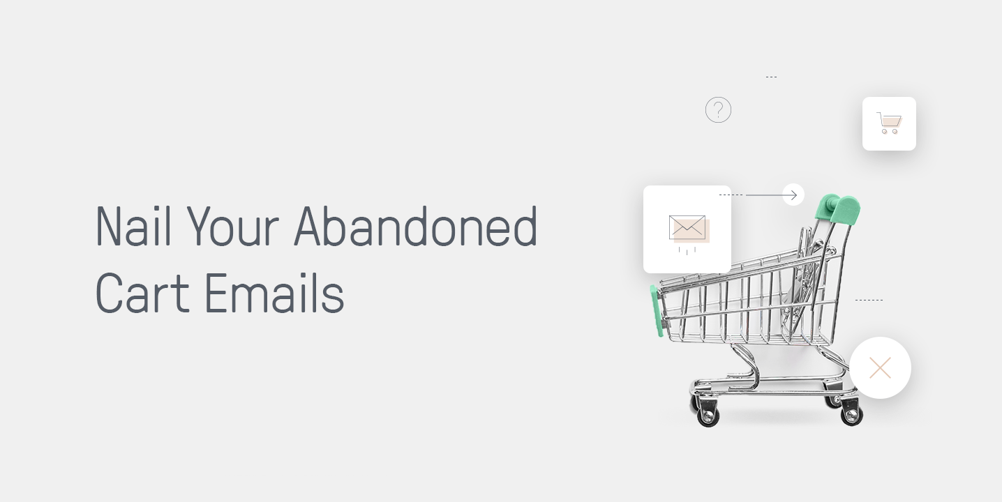 Abandoned cart emails article header image