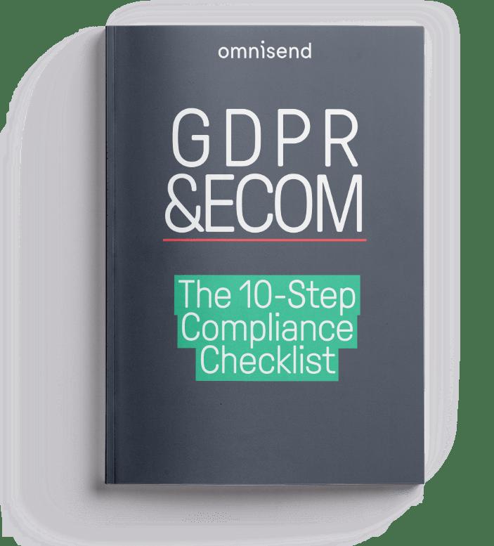 Get Omnisend's Free GDPR 10-step checklist