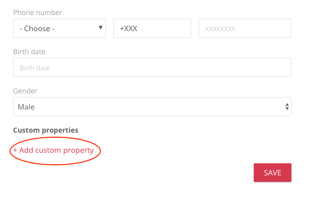 email segmentation custom properties