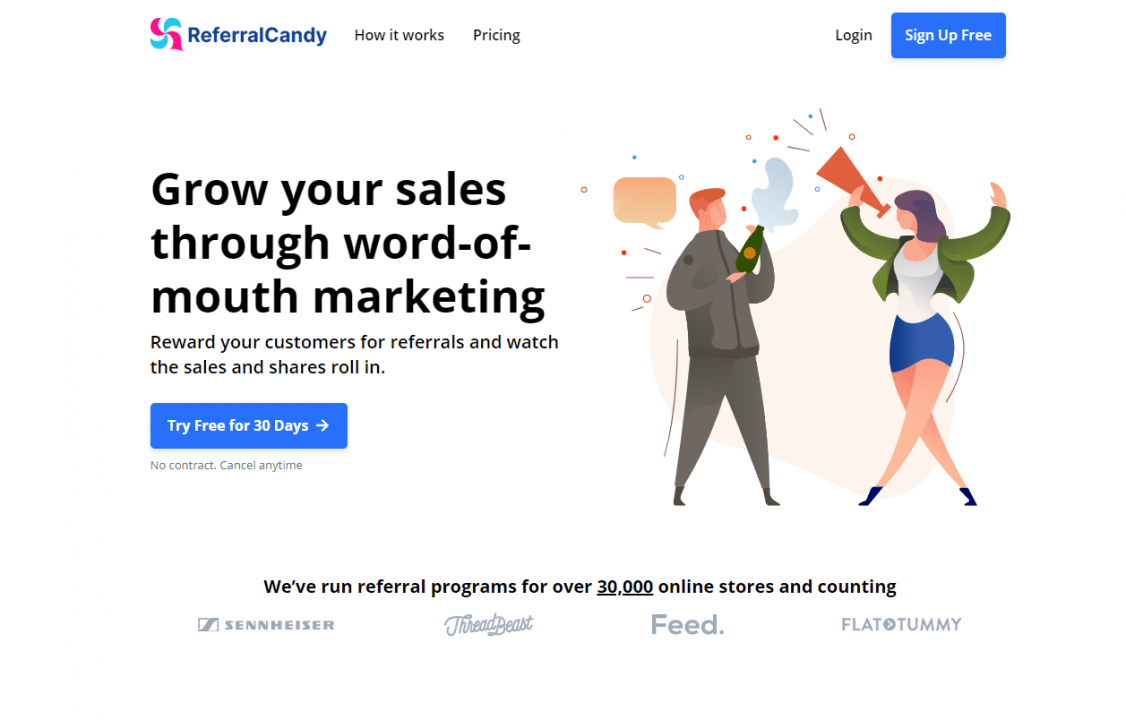 referralcandy for ecommerce marketing