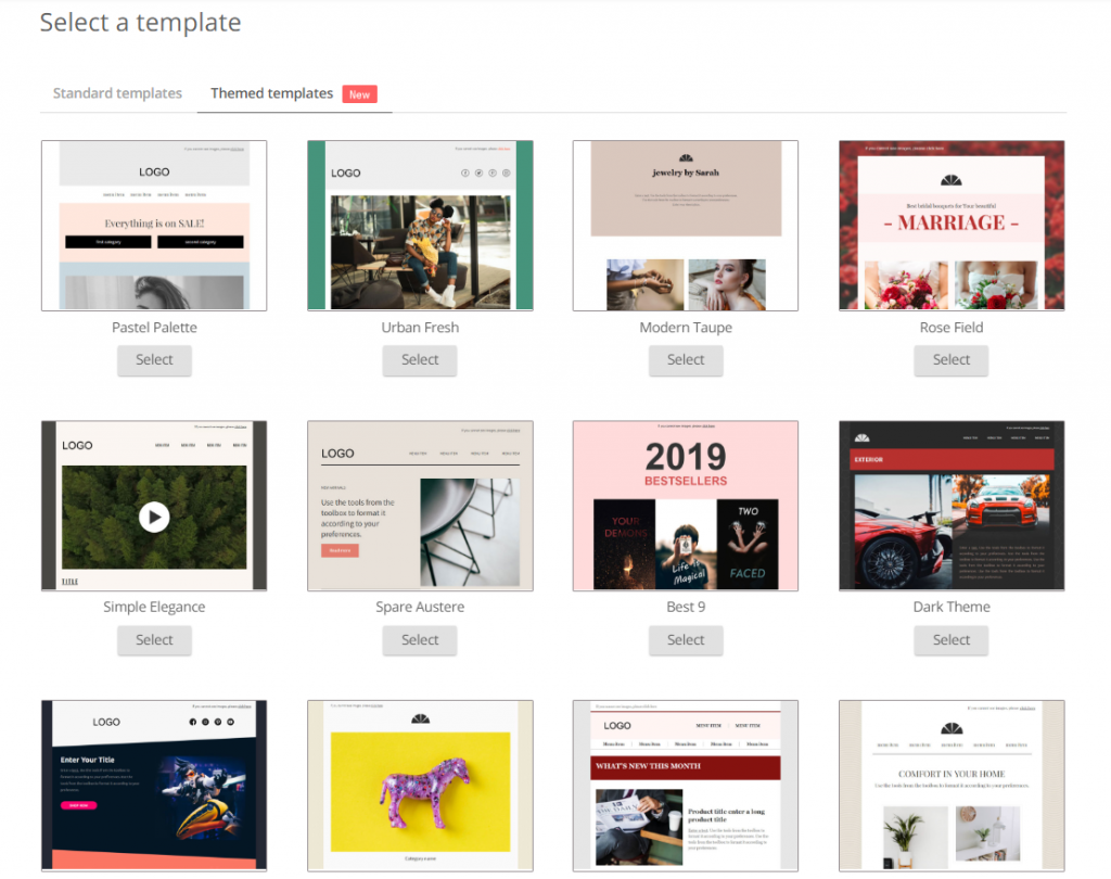 mailchimp shopify omnisend templates