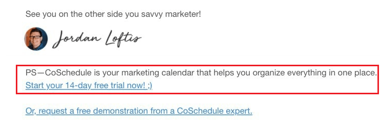Why You Need to Write P S  in Your Marketing Emails