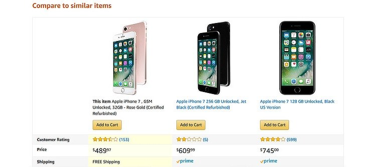 ecommerce-upsell-examples-phone-comparison