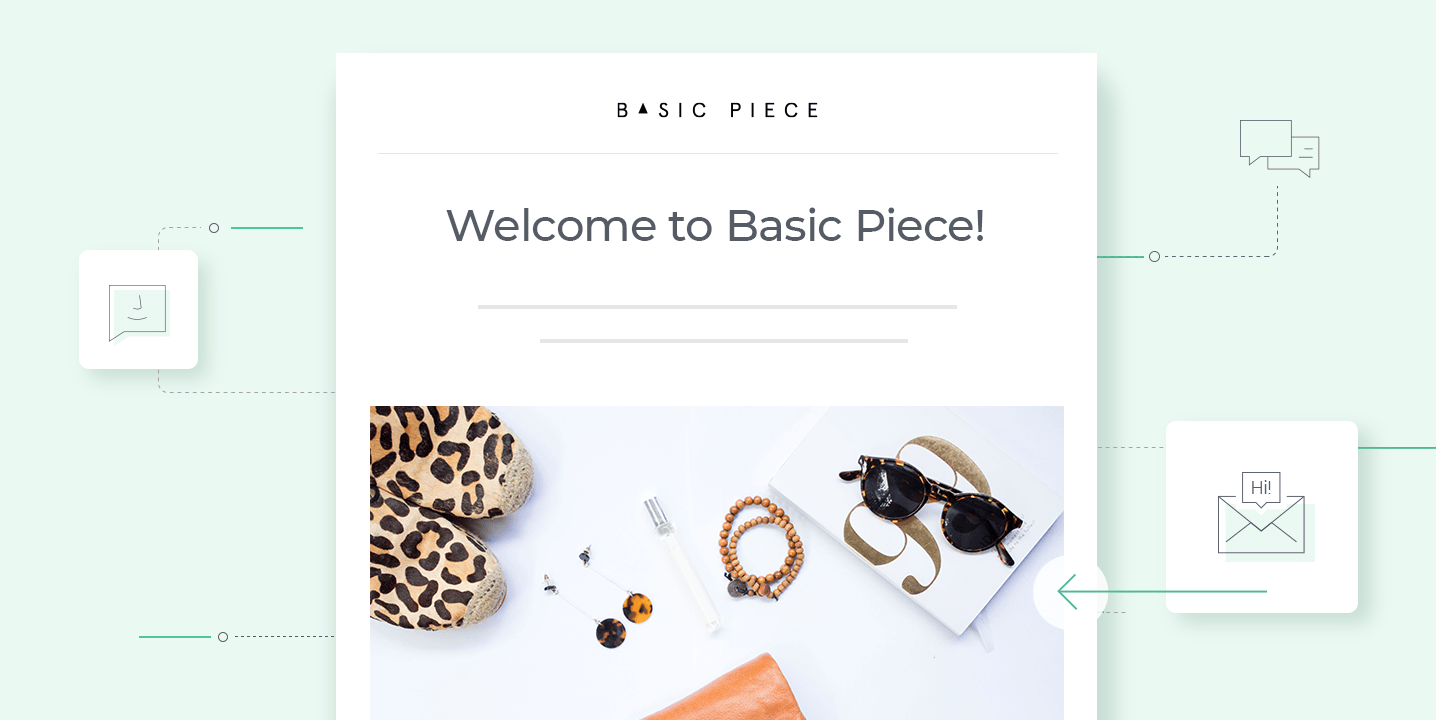 How to Create a Welcome Email Template + examples | Omnisend