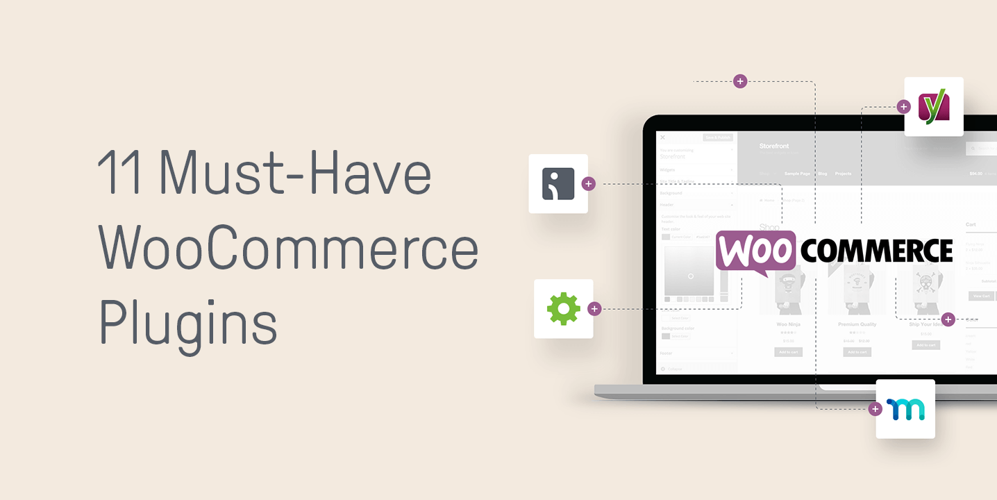 11 Must-Have Woocommerce plugins header image