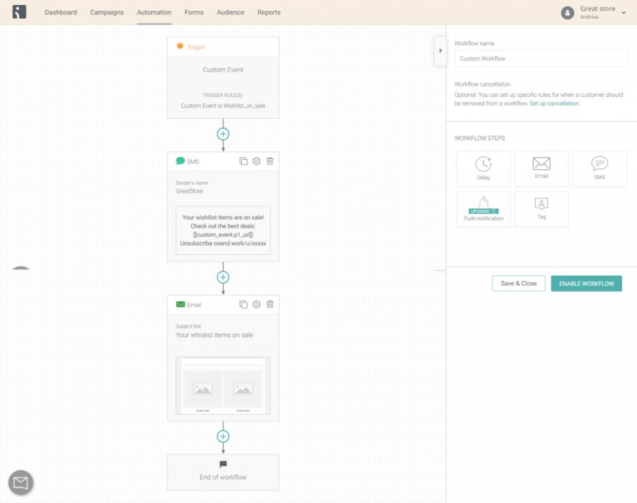 Shopify flow workflow 3
