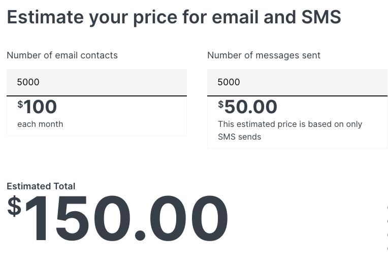 klaviyo-pricing-information