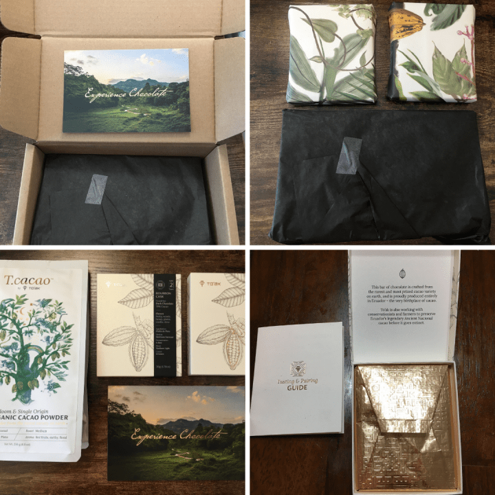to'ak chocolate unboxing experience