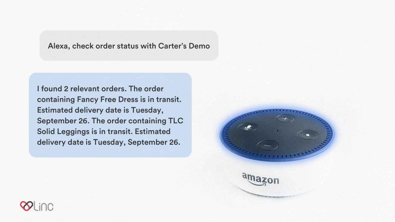 Linc with Amazon's Alexa