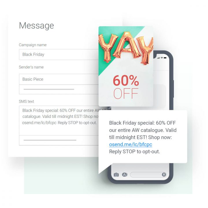 Limited-Time Offer SMS Example