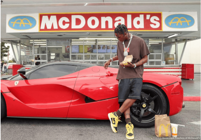 mcdonalds and travis scott